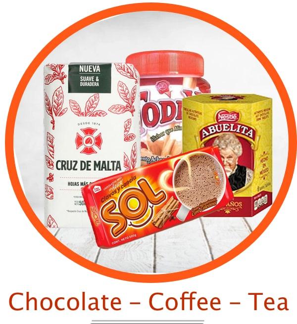 Chocolate Coffee Tea