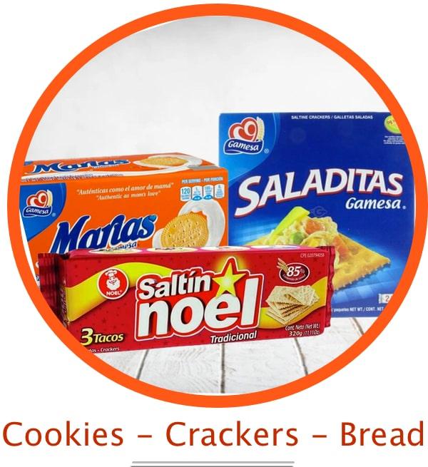 Cookies Crackers Bread-min